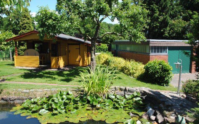 Gartenhaus und Werkstatt
