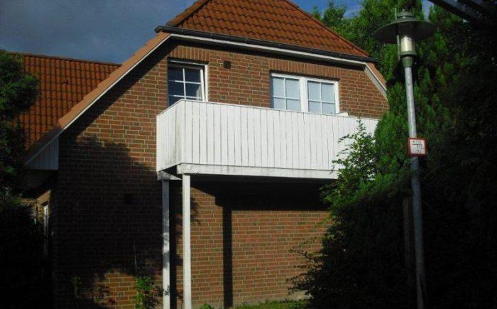 Außenansicht 2, Balkon