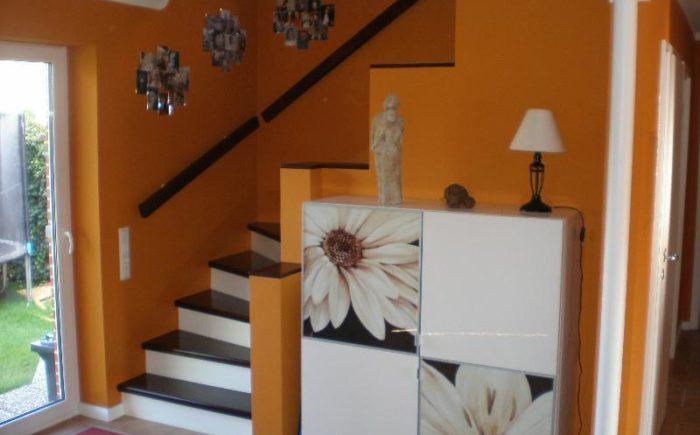 EG: Flur - Treppenaufgang