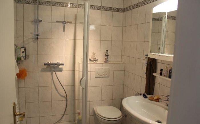 1. OG: Dusche, WC